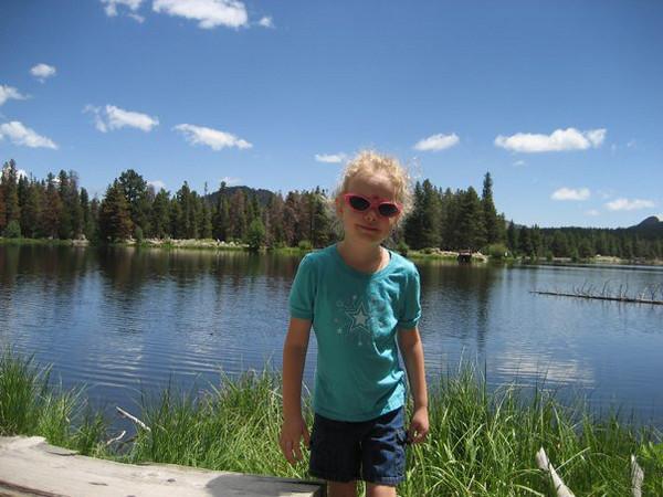 Amazingly beautiful day at Bear Lake.  Hardly any clouds.