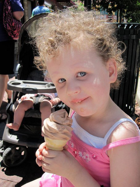 Mmm, ice cream!