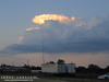 We stayed in Amarillo for our first night.  Had some nice storms there right around sunset.