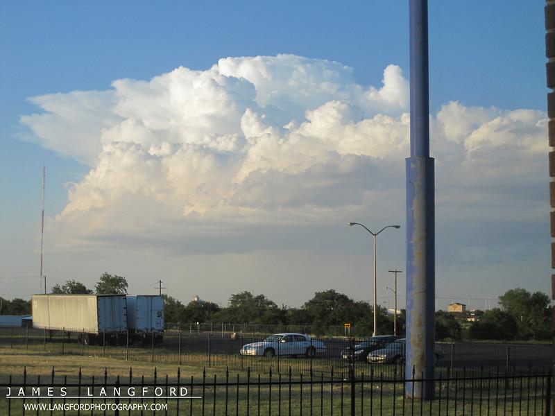 More Amarillo storms.