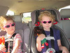 The girls are stylin in their sunglasses. ;-)