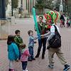 Calvin gets a balloon sword