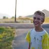 Isaac, 11, being Isaac.
