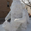 Ice sculptures in Loveland