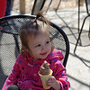 Lucy's first ice cream cone