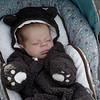 Baby DJ takes a nap
