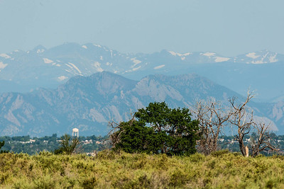A view to the west, Rocky Mountain Arsenal NWR.