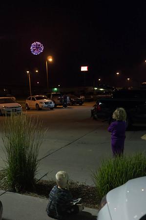 Fireworks in Lincoln, NE.