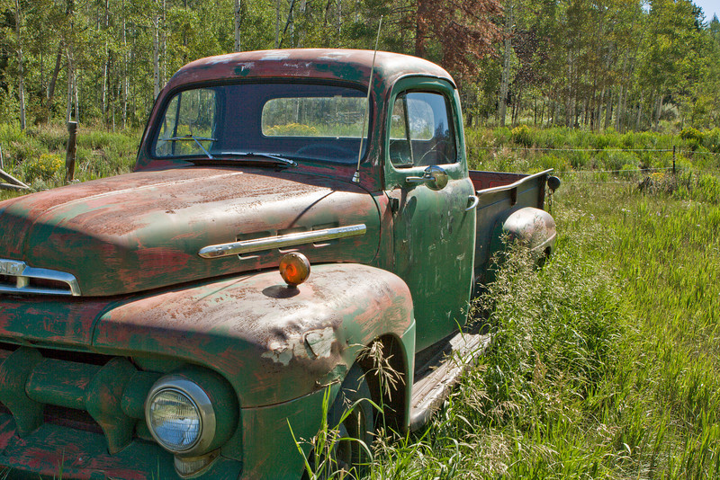 Awaiting restoration at Spirit Mountain Ranch