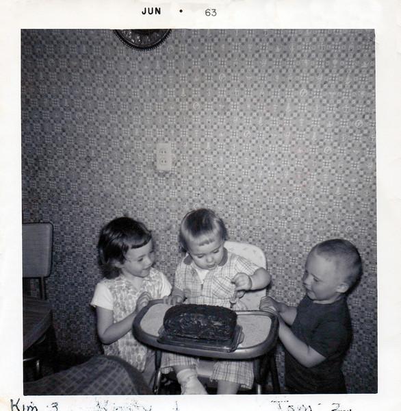 1963 Kristy age 1