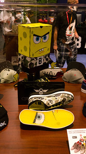 Spong Bob Shoes & Hats Bait had a line of shoes with lenticular soles.