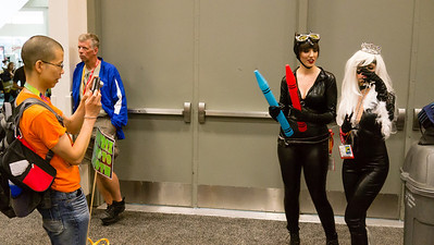 Guess why these guys come to Comic-con