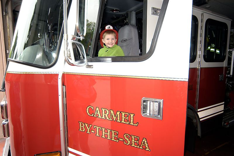 7-1-2005 -- The best part of the vacation for Connor.