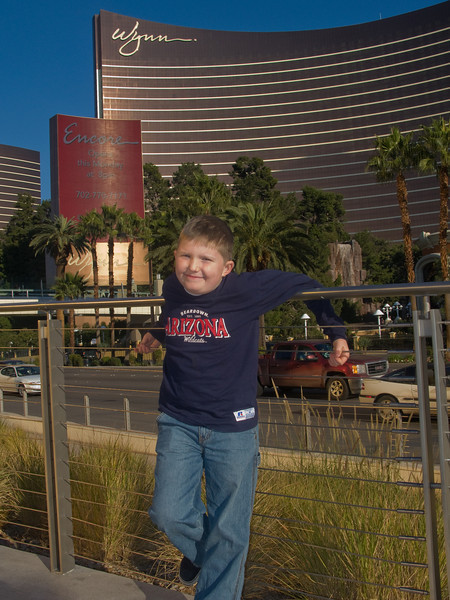 Connor on the Strip