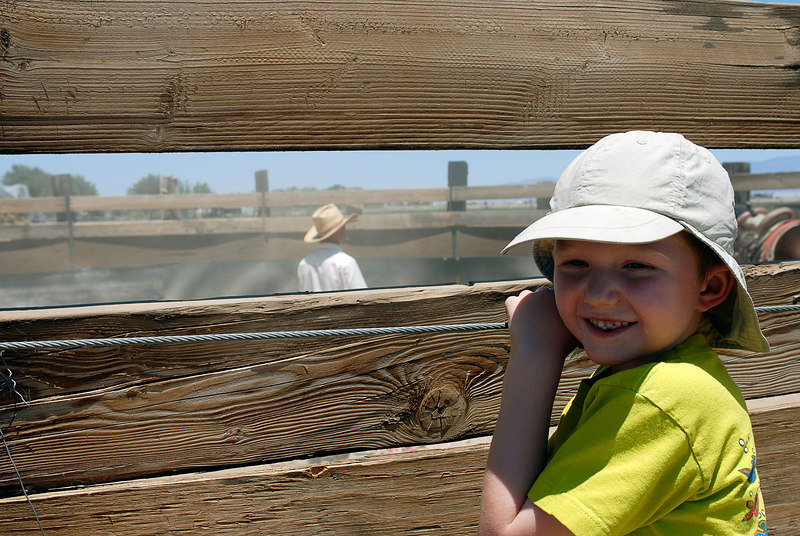 (6.18.2006)  Connor and David's trip to Willcox with Uncle Lee.