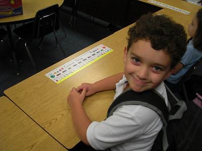 Connor 1st Grade Photos