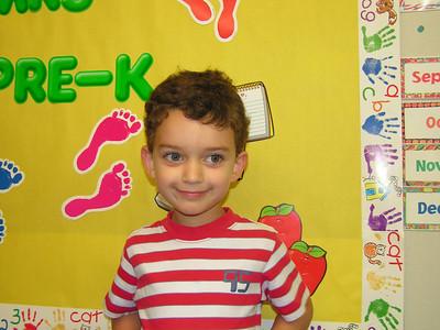 Connor 2006-07 Pre-K School Year