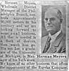 Herman Meyers Eureka Company Article
