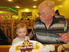 Blowin' out the candles with Nicole (Conrad's 77th bday (2012))