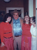 Anissa, Conrad, Anna & Polly at Turk-o-ween 1984