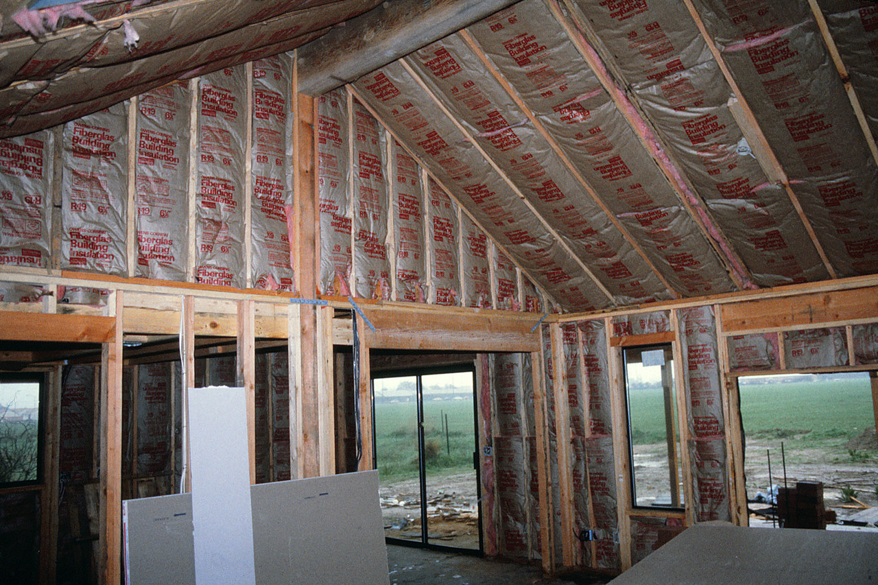 Insulation in the great room