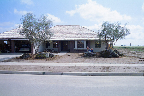 Construction of My Parents Home, 1984