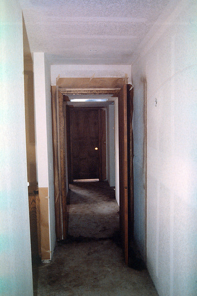 Looking towards Jason's bedroom