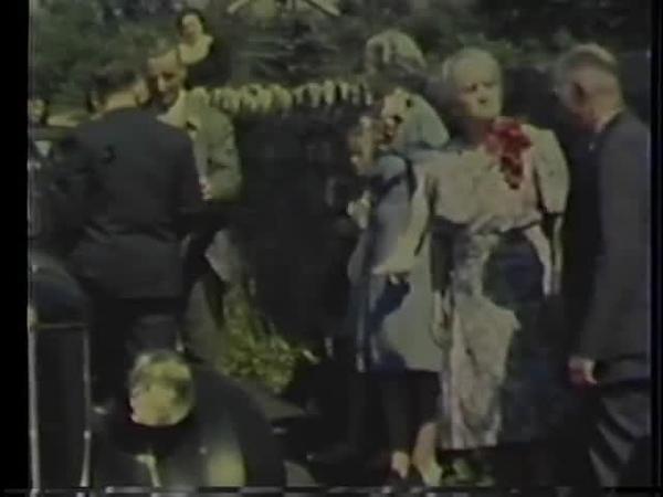 William and Barbara Myers wedding