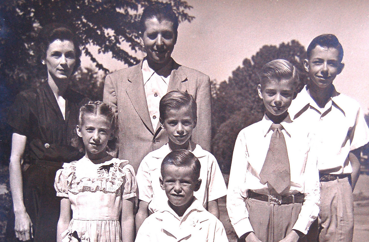the Rigdon Clan in 1955