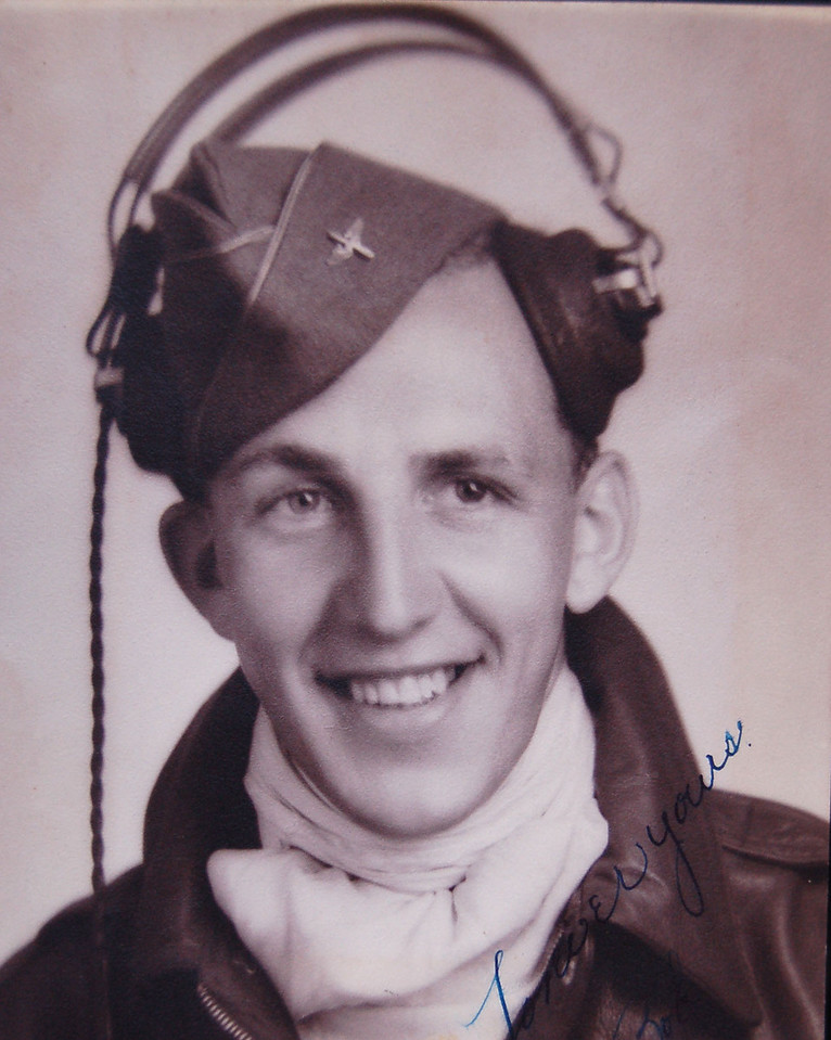 Uncle Bob in Army Air Corps
