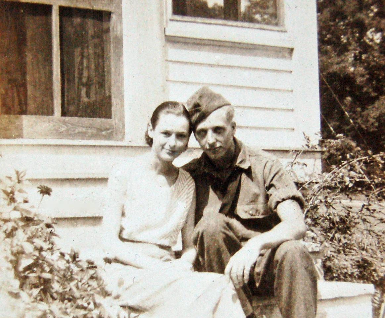 Mom & Dad in 1942