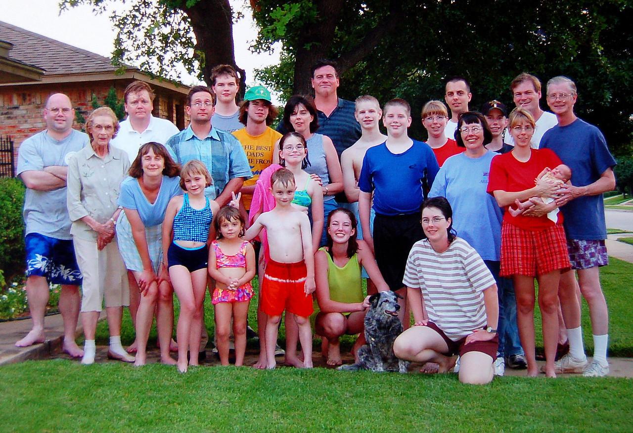 Steve's Family early 2000s