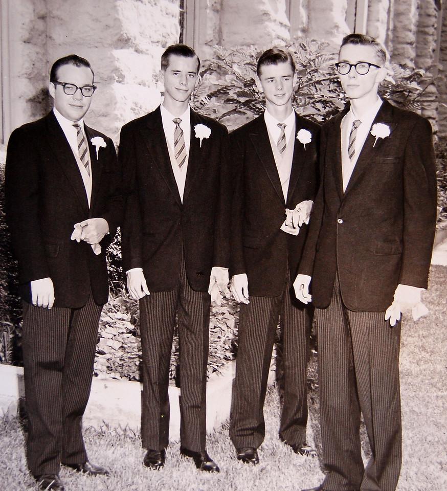 Wedding Men, Bob Parker, Mike, Steve, Gary
