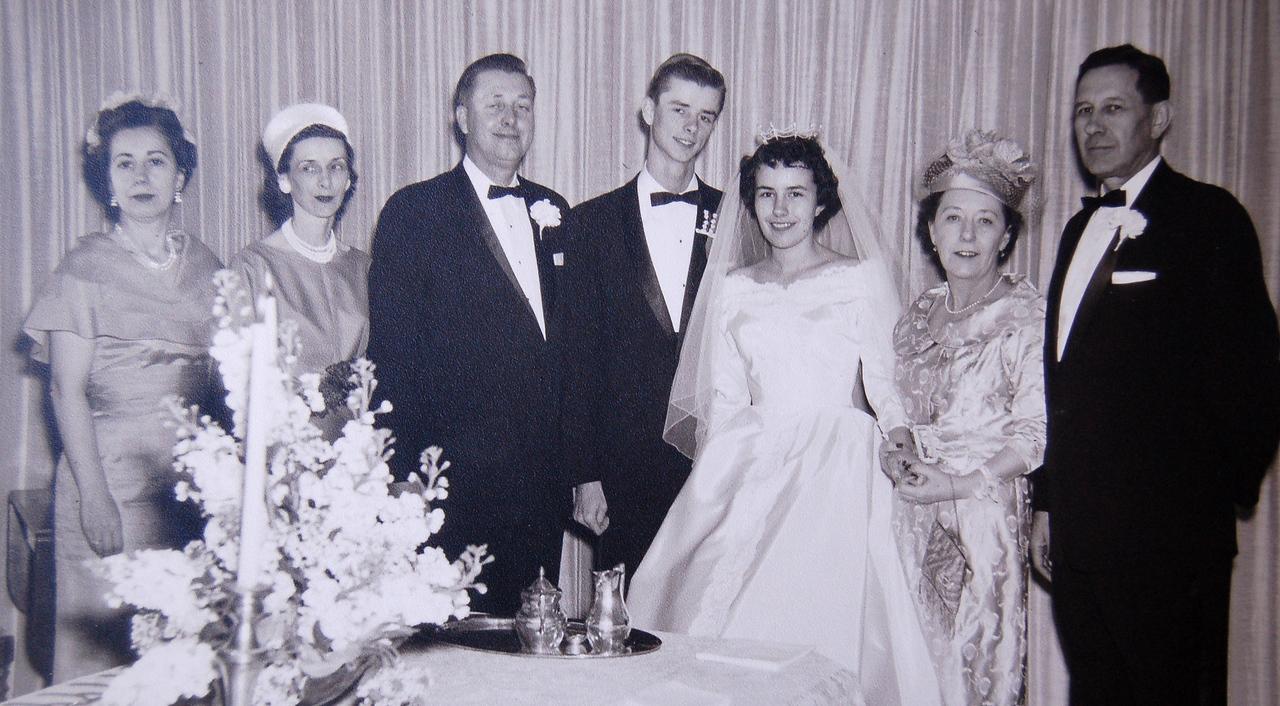 Steve's Wedding 1961