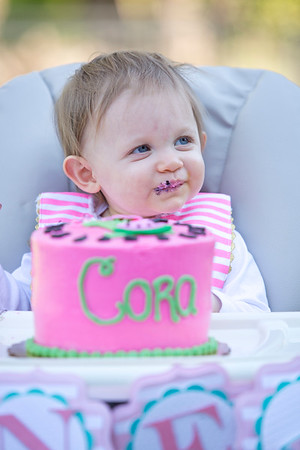 Cora's First Birthday (and other Muich cuteness)