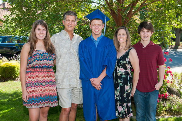 Corey Graduation Family - 2013