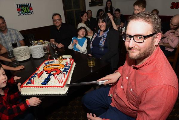 Corey's 30th Birthday Party