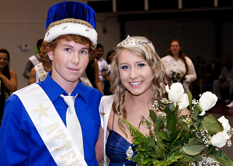 Cornerstone Charter Academy Homecoming King and Queen 2010
