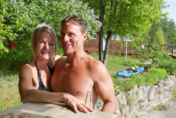 Cottage with Alban May 31 - June 2 2013