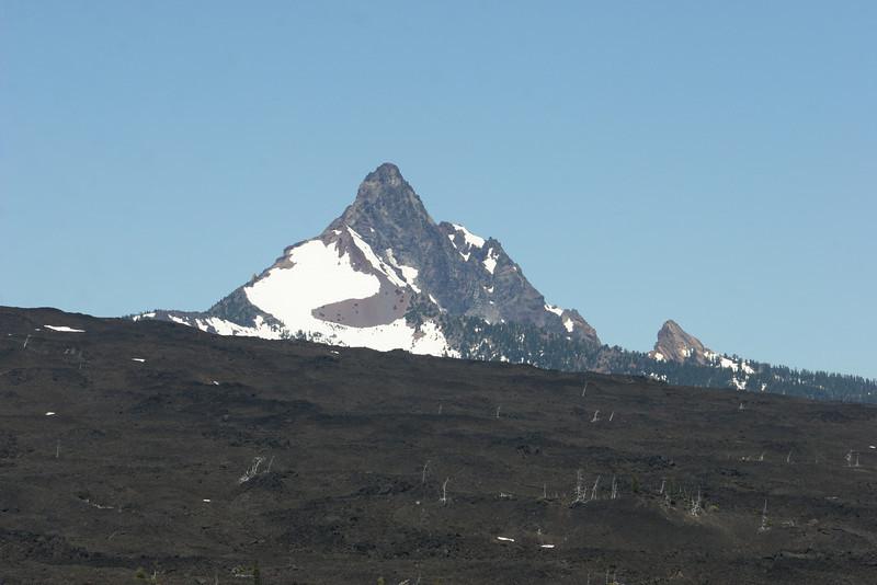 Mt. Jefferson view from McKenzie Hwy 242