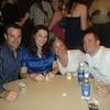 Kevin, Laura, Sarah, Ben Friday night party