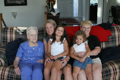 Cousin and Grandma Pics July 2008