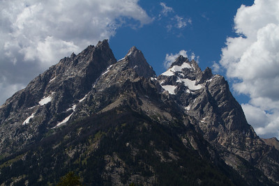 Cathedral peaks to the north of Grand Teton