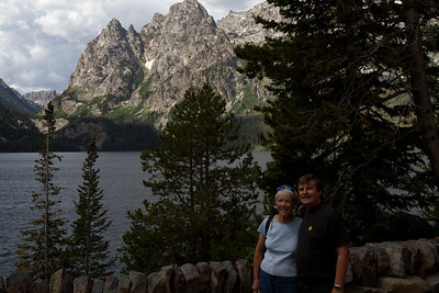 We anticipated taking the boat across the Jenny Lake on our return and hiking up to Hidden Falls.