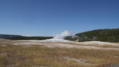 OK!  Here's a video of the Old Faithful eruption.