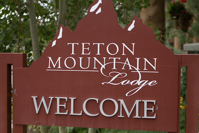 Our accommodation was Teton Mountain Lodge in Teton Village.