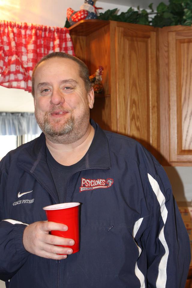 Steve Peters, Kelli's husband
