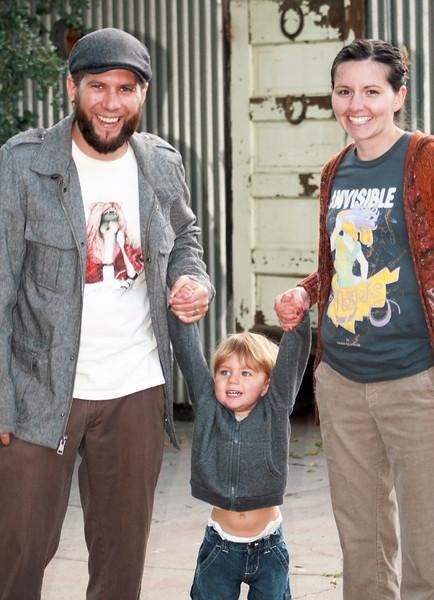 Nick, Aidan and Jen McGruter