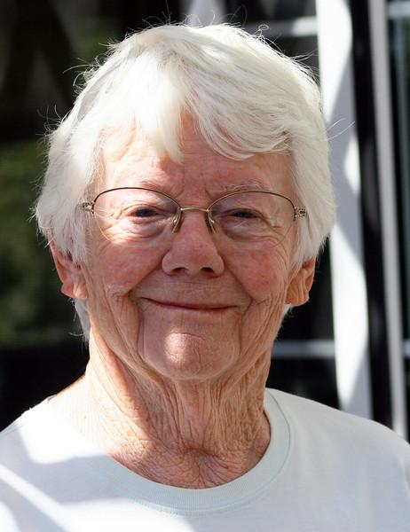 Gloria has a beautiful smile: Gloria Blair Gaddis, 08/15/10, age 83