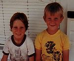 "Danny and Craig - ""Norton"", Roma - 1983"